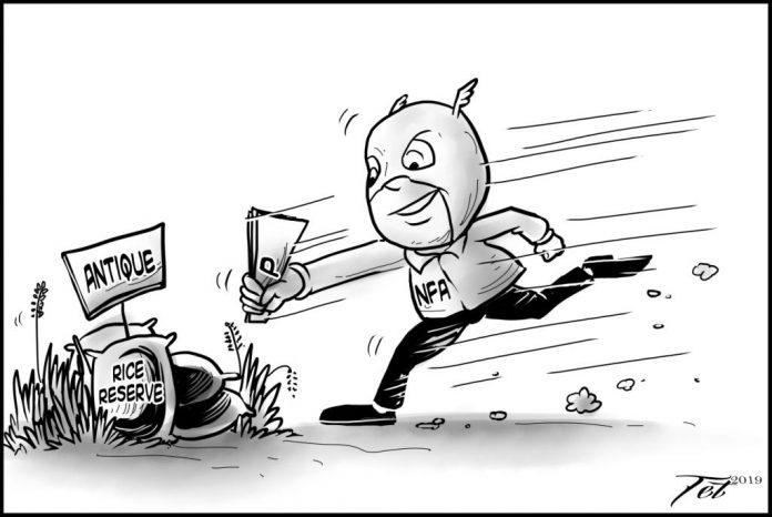 Editorial cartoon for September 11, 2019