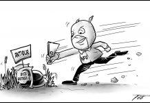 Editorial cartoon for September 15, 2019