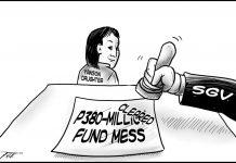 Editorial cartoon for September 17, 2019
