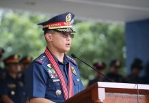 Philippine National Police (PNP) officer-in-charge Lieutenant General Archie Francisco Gamboa. PNP