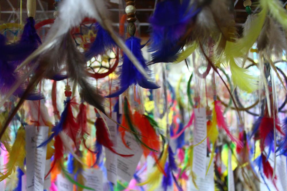 Dreamcatcher trinkets are a popular Baguio City souvenir.