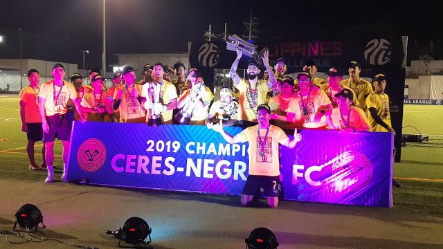 Ceres Negros FC. PHOTO COURTESY OF IVAN SALDAJENO