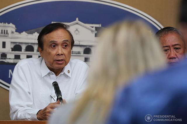 Socio-Economic Planning secretary Ernesto Pernia