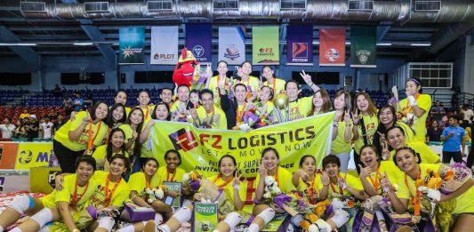 F2 Logistics Cargo Movers remains the Philippine Superliga Invitational champion. PSL PHOTO