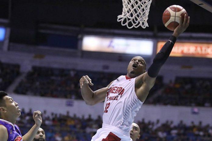 Barangay Ginebra clobbered Magnolia in the Manila Clasico. ABS-CBN Sports