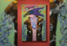 """Incognito, Roger """"Rishab"""" Tibon, 2014, oil on canvas"""
