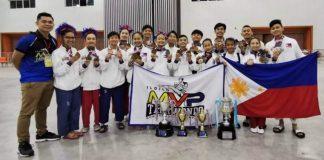 Iloilo MVP Taekwondo Gym delegates to the 9th Tirak Taekwondo International Championships in Thailand. PHOTO COURTESY OF DENMARK PINGGOL