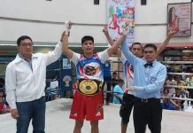 Joepher Montano of Bago City, Negros Occidental improves his boxing record to 11-5-2 win-loss-draw, including 10 stoppage wins. PHOTO COURTESY OF BRICO SANTIG