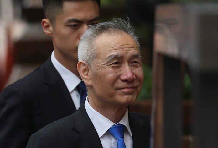 Chinese vice premier Liu He. REUTERS