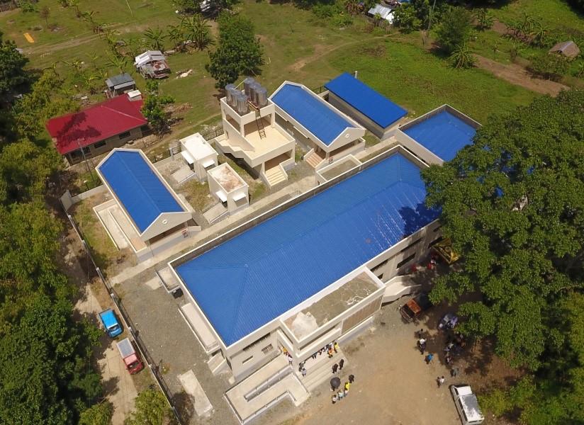 Completed Regional Evacuation Center Brgy. Igtambo, San Miguel, Iloilo. M. SEDICOL AND C. CALAPARDO