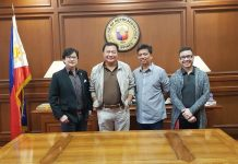 PA Michael Dino, Asec Jonji Gonzales and Deputy Mike Pato. Office of the Presidential Assistant for the Visayas