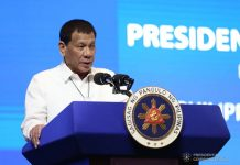 President Rodrigo Duterte warns police officers, who are allegedly recycling drugs seized in antidrug operations, not to be confident in their illegal activities. PCOO