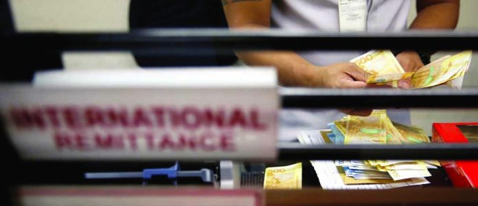 Remittances from overseas Filipinos climb 4.2 percent to $2.875 billion in August from $2.760 billion in the same month last year. WORLD ECONOMIC FORUM