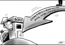Editorial Cartoon for October 15, 2019
