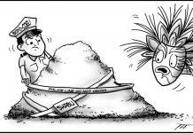 Editorial cartoon for October 16, 2019