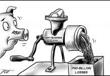 Editorial cartoon for October 18, 2019