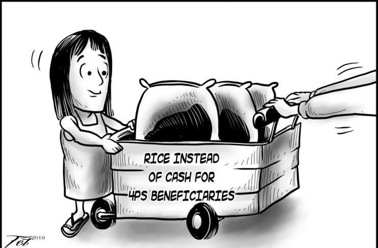 Editorial cartoon for October 19, 2019