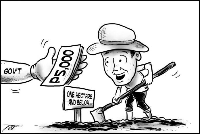 Editorial cartoon for October 22, 2019.
