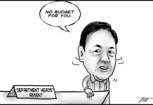 Editorial cartoon for October 23, 2019
