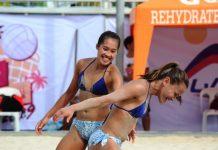 Negrense Bernadeth Pons and Cherry Rondina sweep the 2019 Rebisco Beach Volleyball International Open. CONTRIBUTED PHOTO