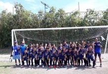 Central Philippine University Golden Lions finally clinches the ILOPRISAA Meet elementary boys football crown after finishing runner-up in the last two years. PHOTO COURTESY OF EDWIN CARO LARU-AN