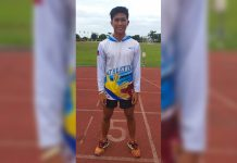 Christian Ote of New Washington National Comprehensive High School is the most bemedalled athlete in the 2019 Aklan Provincial Meet. He bagged four golds and a silver medal.