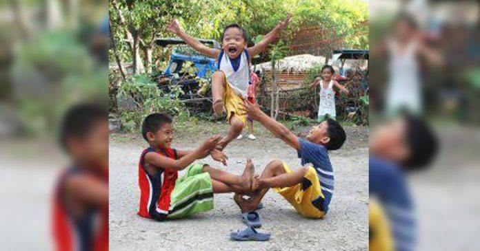 Filipino kids play a common street game in the country. The Regional Sub-Committee for the Welfare of Children in Western Visayas recently recognized the outstanding performance of local government units in the region in the implementation of child-friendly programs and services in year 2018. PINTEREST.COM