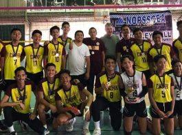 Living Stones International School secondary boys volleyball team.