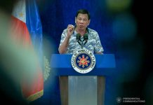 President Rodrigo Duterte says Vice President Leni Robredo's behavior and remarks following her appointment as anti-drug czar didn't inspire for her to be given a Cabinet post. PRESIDENTIAL PHOTO