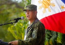 """We might recommend to the Secretary of National Defense some areas lang in Mindanao where there is presence ng mga ISIS-inspired groups,"" says Presidential Peace Adviser Carlito Galvez Jr. GMA NEWS"