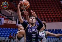 Richard Escoto of Iloilo United Royals goes for a layup. PHOTO COURTESY OF MPBL