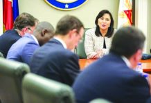 Vice President Leni Robredo, who co-chairs the Inter-Agency Committee on Anti-Illegal Drugs, says the Philippines can learn a lot from the experiences of other countries. She met with United States (US) officials on Wednesday to discuss possible partnership to address the country's illegal drug problem. ABS-CBN NEWS