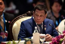 President Rodrigo Duterte urges India to conclude negotiations on the Regional Comprehensive Economic Partnership given that India and the Association of Southeast Asian Nations share the same goals of poverty alleviation and inequality reduction. LILLIAN SUWANRUMPHA/AFP