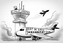 Editorial cartoon for November 11, 2019