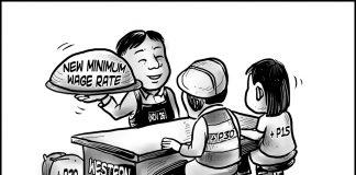 Editorial cartoon for November 17, 2019