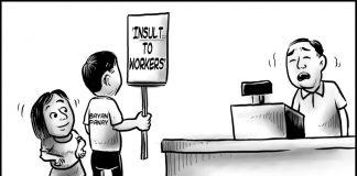 Editorial cartoon for November 19, 2019