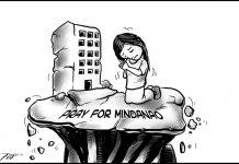 Editorial cartoon for November 5, 2019