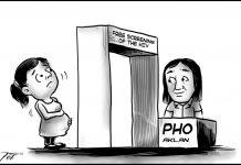 Editorial cartoon for November 6, 2019