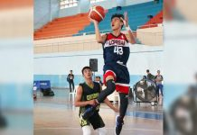 ILOPRISAA's Dave Bagatnan soars for a layup. PHOTO COURTESY OF WINMEL LEE