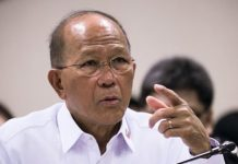 Defense secretary Delfin Lorenzana recommends to President Rodrigo Duterte the non-extension of martial law in the entire island of Mindanao as the existing declaration expires on Dec. 31. ABS-CBN NEWS