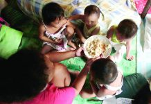 "A breakfast of scrambled eggs, rice and coffee with milk is one of three ""no-frill"" meals in a day that a Filipino family of five can fit in a monthly budget of P10, 727 that the government says is enough to meet ""basic"" food and non-food needs. REUTERS BLOGS"
