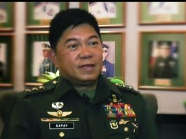 LIEUTENANT GENERAL GILBERT GAPAY. PHOTO FROM AFP SOUTHERN LUZON COMMAND FACEBOOK PAGE