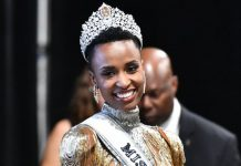 Miss South Africa Zozibini Tunzi wins the coveted Miss Universe 2019 crown during a pageant in Atlanta, United States on Monday (Manila time). GETTY IMAGES