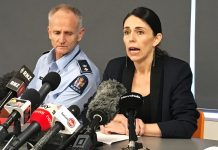 Prime Minister Jacinda Ardern addresses the media following an eruption of the White Island volcano in Whakatane, New Zealand on Dec. 10. REUTERS/CHARLOTTE GREENFIELD