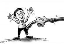 Editorial cartoon for December 13, 2019