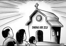 Editorial cartoon for December 16, 2019