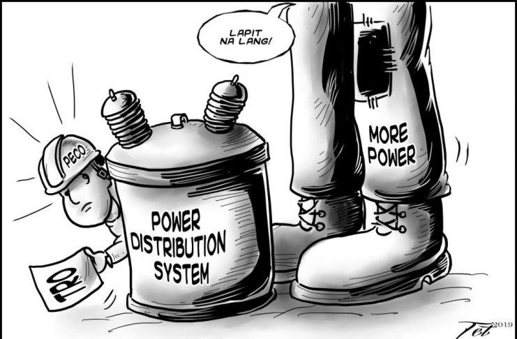 Editorial cartoon for December 7, 2019
