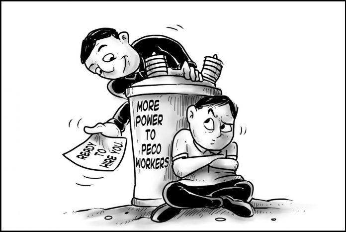 Editorial cartoon for December 9, 2019