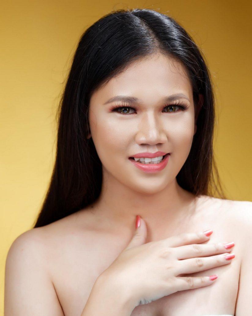 CANDIDATE NO 2. Desiree Jane Espa Tubaon, 22 of Igbaras, Iloilo.