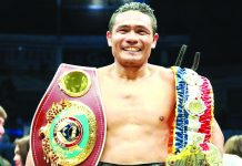 Donnie Nietes won the WBO super flyweight belt last Dec. 31, 2018 but gave up the belt last year. RING TV PHOTO